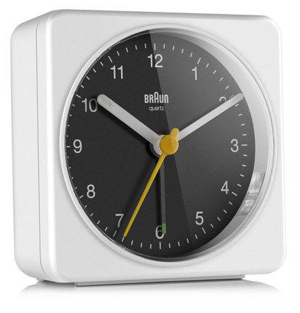 Budzik BRAUN alarm neobrite 8 cm BC03WB
