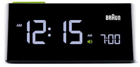 Budzik BRAUN drzemka alarm BNC016BK