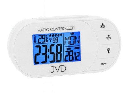Budzik JVD STEROWANY RADIOWO 5 alarmów temp. RB13