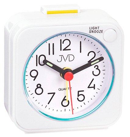 Budzik JVD alarm narastający drzemka czytelny SR623.3