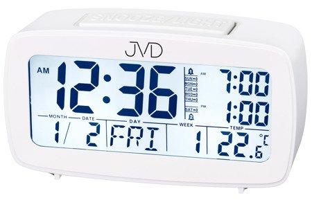 Budzik JVD termometr 7 KALENDARZ kalendarz SB82.1