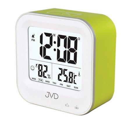 Budzik JVD termometr AKUMULATOR higrometr SB9909.1