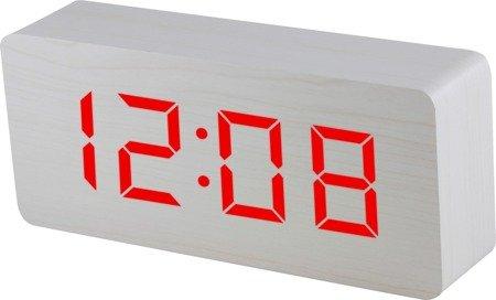 Budzik MPM sieciowy termometr 9x21 cm C02.3565.00