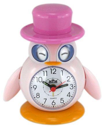 Budzik dziecięcy pingwin kolorowy C01.2557.23