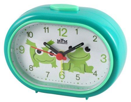 Budzik dziecięcy żabki zielony mały C01.2558.42