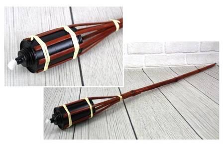 Pochodnia bambusowa olejowa 90 cm komary 10 SZTUK