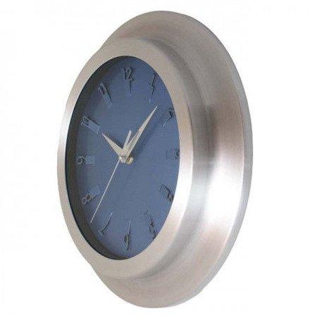 SUPER zegar ścienny aluminium średni AL2029 SW