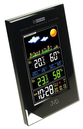 Stacja pogody JVDKOLOROWADCF77 12x19cm RB9202.1