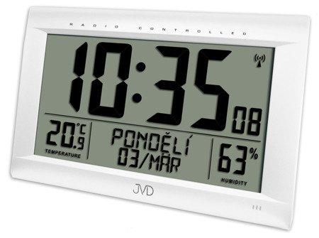 Zegar/Budzik JVD ścienny stojący DCF77 DUŻY RB9075.2
