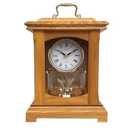 Zegar JVD drewniany KOMINKOWY z wahadłem HS3007.2