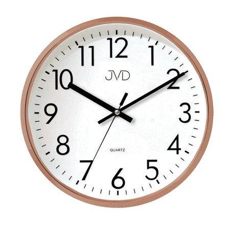 Zegar JVD ścienny 32 cm CICHY nowoczesny HA43.3