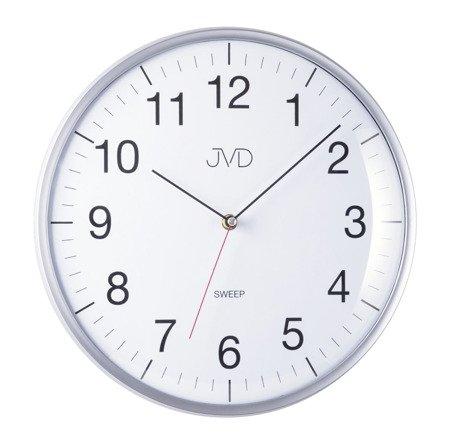 Zegar JVD ścienny 33 cm CICHY nowoczesny HA16.1