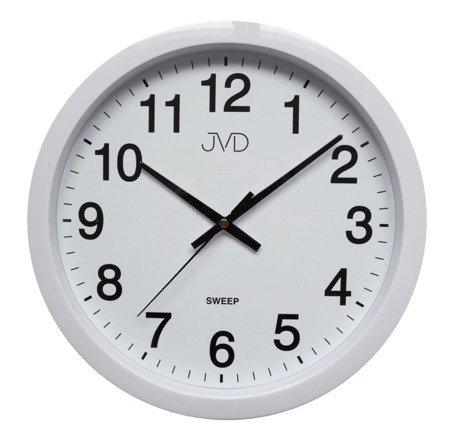 Zegar JVD ścienny CICHY czytelny HP611.1