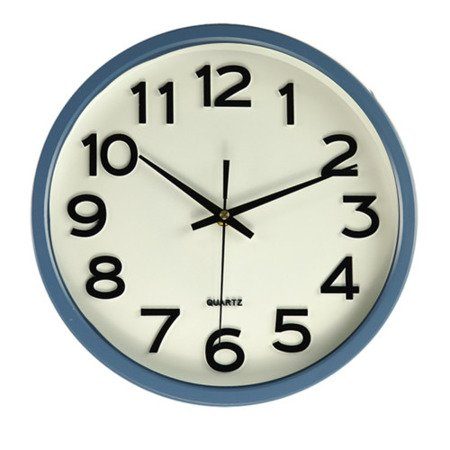Zegar JVD ścienny CICHY czytelny HX2413.8