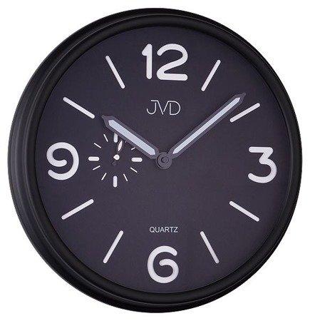 Zegar JVD ścienny CICHY nowoczesny METAL HA11.1