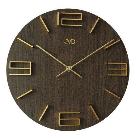 Zegar JVD ścienny DREWNIANY 30 cm HC32.4