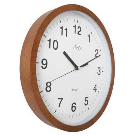 Zegar JVD ścienny DREWNIANY 30 cm NS19019.41