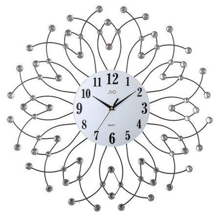 Zegar JVD ścienny DUŻY 65 cm KRYSZTAŁY HJ94