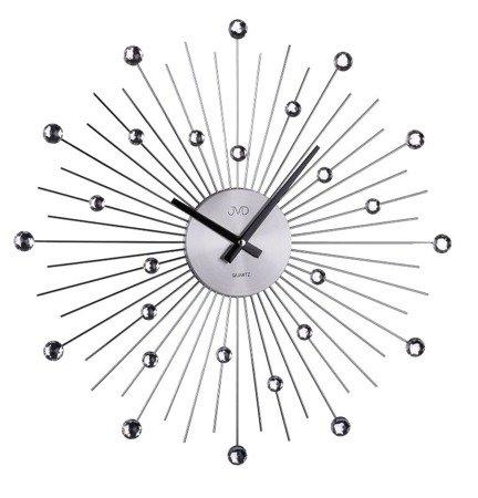 Zegar JVD ścienny KRYSZTAŁY 48,5 cm  HT071.1