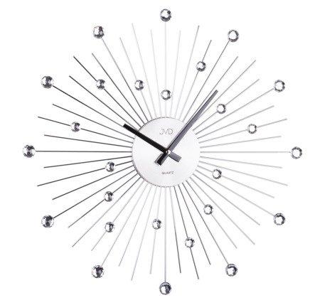 Zegar JVD ścienny KRYSZTAŁY 48,5 cm  HT071