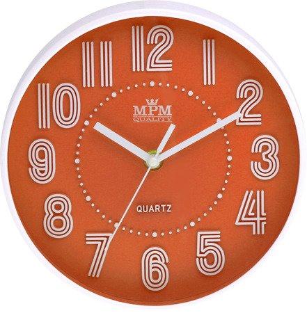 Zegar MPM ścienny MŁODZIEŻOWY nowoczesny CICHY E01.3228.60