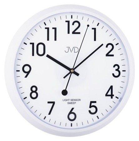 Zegar JVD ścienny SENSOR LIGHT płynący  HP698.3