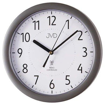 Zegar JVD ścienny STEROWANY RADIOWO 25 cm RH612.11
