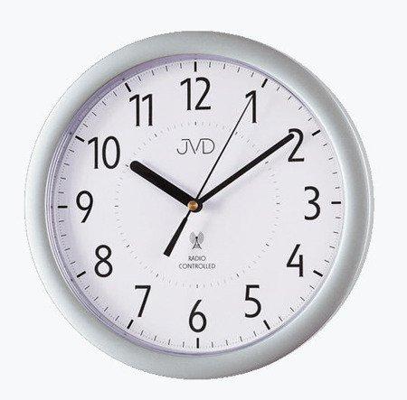 Zegar JVD ścienny STEROWANY RADIOWO 25 cm RH612.12