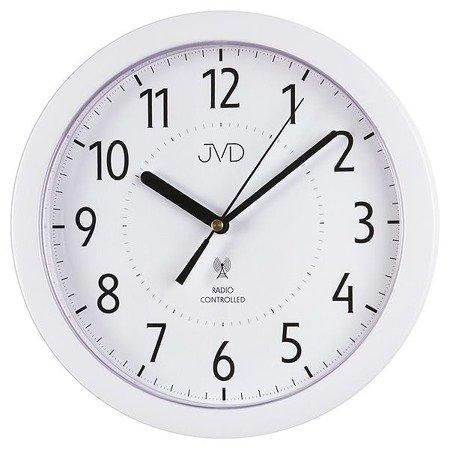 Zegar JVD ścienny STEROWANY RADIOWO 25 cm RH612.13