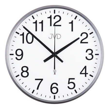 Zegar JVD ścienny STEROWANY RADIOWO 30 cm RH684.3