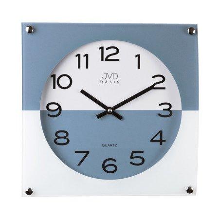 Zegar JVD ścienny SZKŁO N28114.6