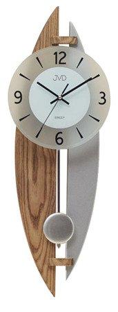 Zegar JVD ścienny WAHADŁO drewno 63 cm NS17068.78