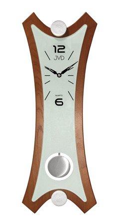 Zegar JVD ścienny Z WAHADŁEM drewno 57 cm N16010.1