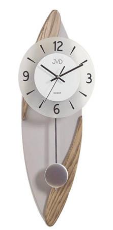 Zegar JVD ścienny Z WAHADŁEM drewno NS18009.78