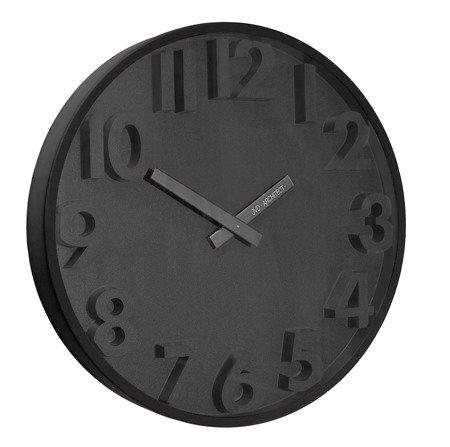 Zegar JVD ścienny nowoczesny METAL  TWORZYWO HC11.3