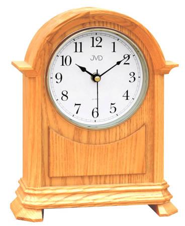 Zegar JVD stojący kominkowy drewniany z kurantami HS12.1