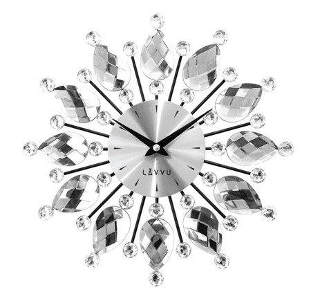 Zegar LAVVU ścienny KRYSZTAŁY 33 cm LCT1120