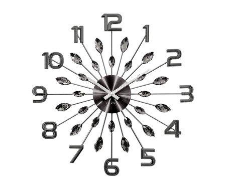 Zegar LAVVU ścienny KRYSZTAŁY DUŻY 49 cm LCT1191