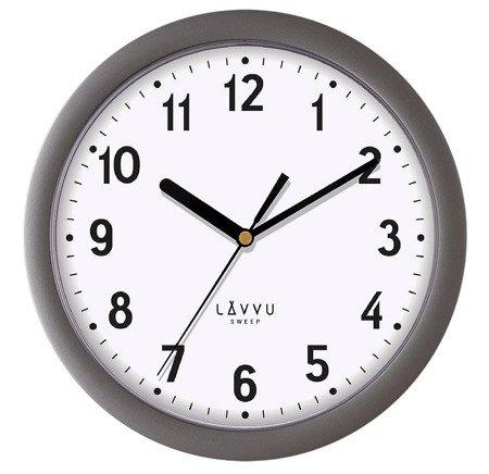 Zegar LAVVU ścienny ciemno-szary 25 cm LCS2022