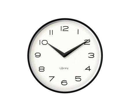 Zegar LAVVU ścienny czarny średni 30 cm LCT1210
