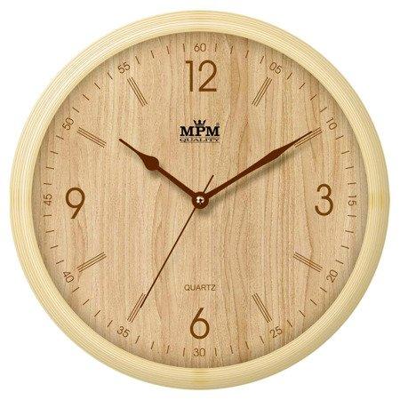 Zegar MPM ścienny nowoczesny nowy model E01.2973.51.YB