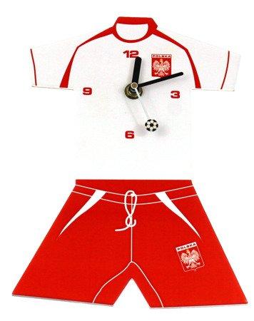 Zegar dziecięcy kibica strój piłkarski wiszący ATE2313B