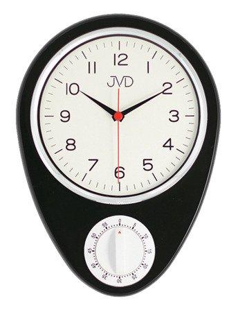 Zegar kuchenny JVD z MINUTNIKIEM ścienny klasyczny HO365.3