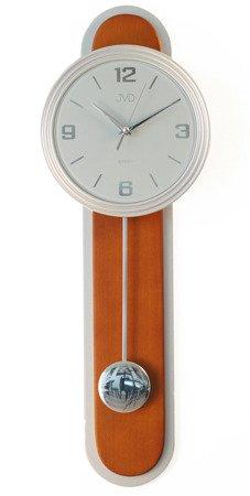 Zegar ścienny JVD Z WAHADŁEM drewno NS17014.41