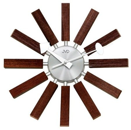 Zegar ścienny JVD nowoczesny sklejka HT103.2