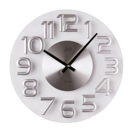 Zegar ścienny JVD nowoczesny szkło HT098