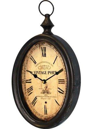 Zegar ścienny METAL retro  EFEKTOWNY 77189