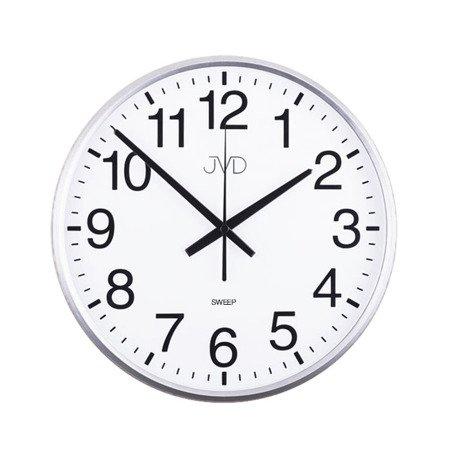 Zegar ścienny biały czytelny 30,5 HP684.1