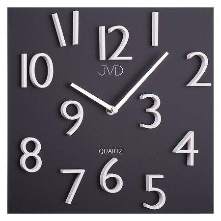 Zegar ścienny czarny MAGNETYCZNE cyfry 30 cm HB16
