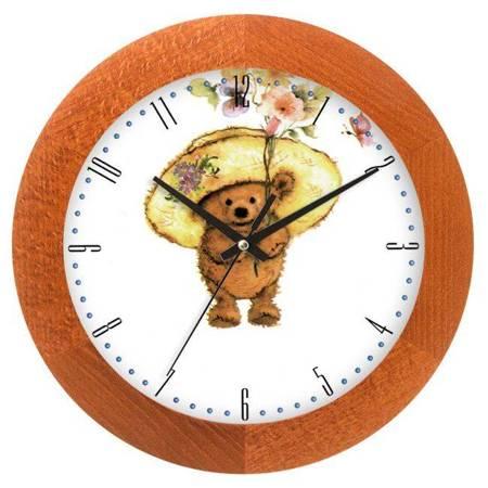 Zegar ścienny dla dzieci MIŚ ATW300MK CAL SW